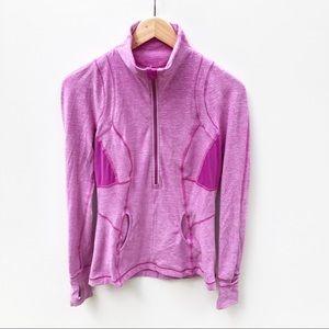 Lululemon US 6 AU 10 3/4 Zip Run Pullover Jacket